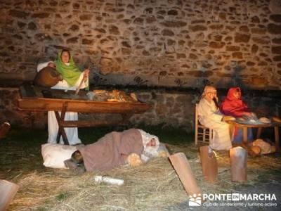 Senderismo Sierra Norte Madrid - Belén Viviente de Buitrago; actividades de ocio y tiempo libre
